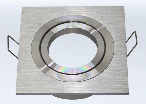 Einbaustrahler AR111 / ES111 aus Aluminium BiColor Rund