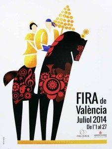 Feria de Julio en #Valencia. Elige Valencia en verano para tus vacaciones
