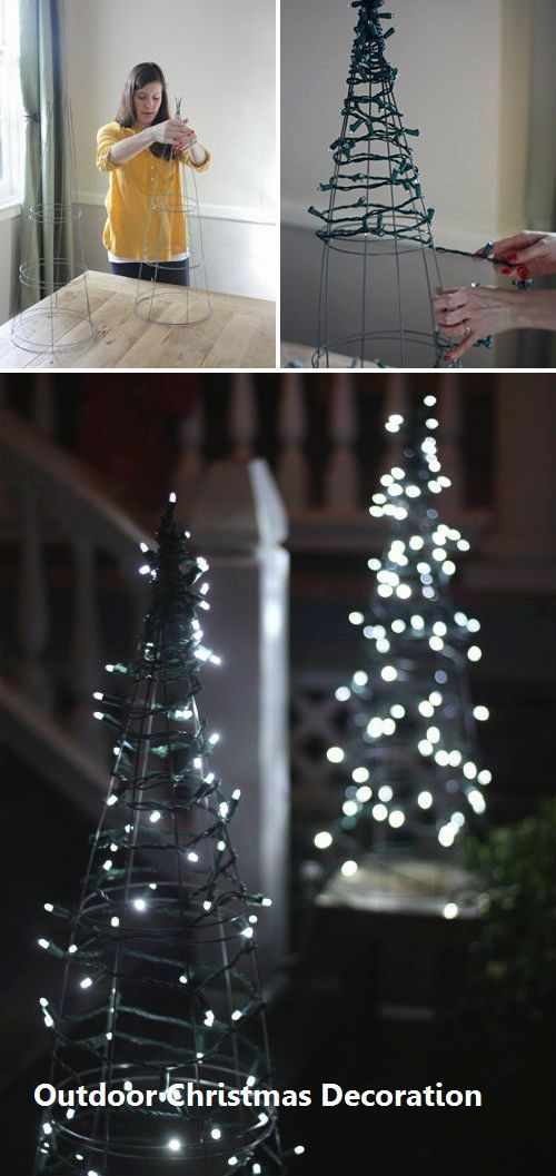 Outdoor Christmas Decoration 2020 | Diy christmas yard decorations