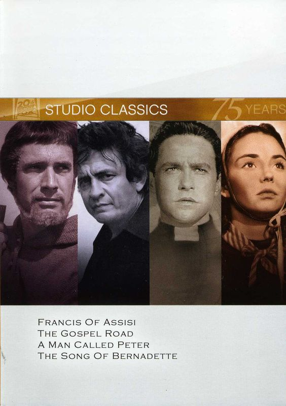 Twentieth Century Fox Francis Of Assisi/The Gospel Road/A Man Called Peter/The Song Of Bernadette