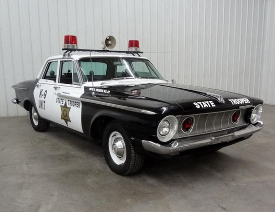 1962 Plymouth Cruiser, wow, how fast do you think that engine could go...