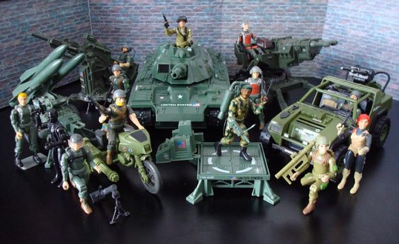 G.I.Joe - the original team.