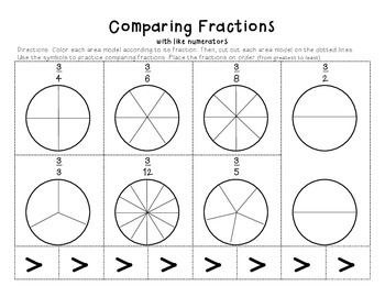 comparing fractions for 2nd grade 2nd grade fractions worksheets free printables education. Black Bedroom Furniture Sets. Home Design Ideas