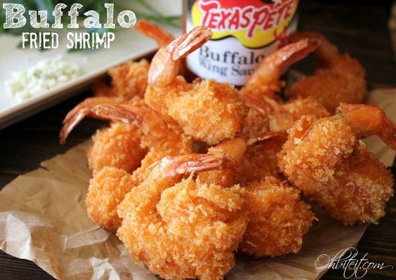 Buffalo fried shrimp oh bite it seafood fish for Buffalo fish recipe