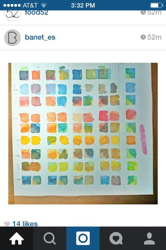 Color sheet