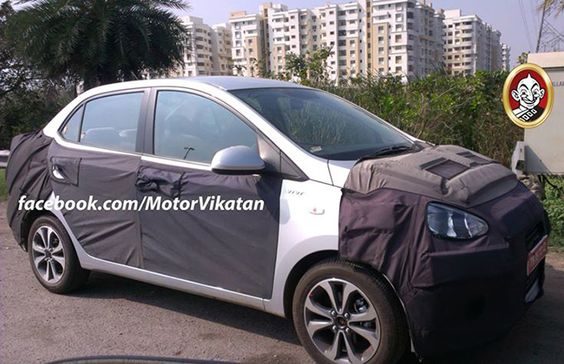 Hyundai Grand I10 Sedan Spied Ahead Of Its Launch Hyundai Cars