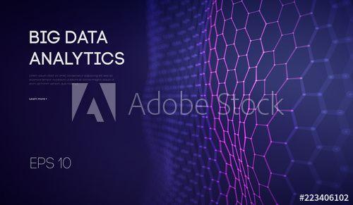 Big Data Business Inteligence Technology Background Binary Code