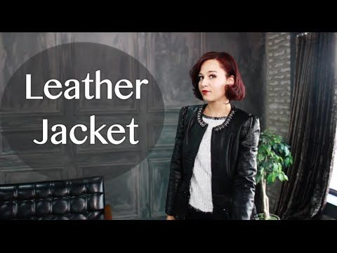 FAD: My Fall Leather Styles