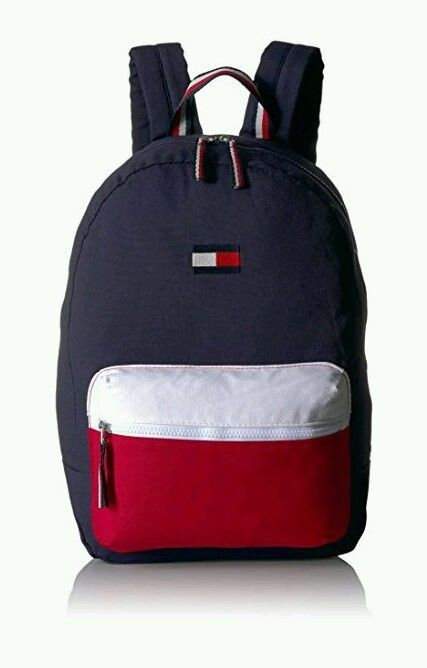 43bd82f139c8 Tommy Hilfiger Women s Backpack Patriot Colorblock Canvas