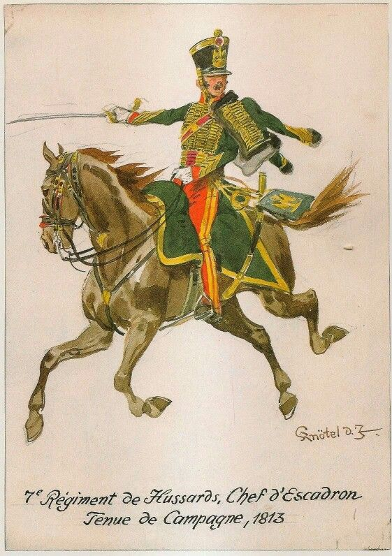 Comandante di squadrone del 7 rgt. ussari