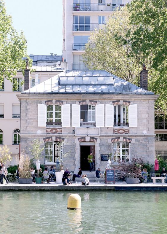 Le pavillon des canaux - Place to be paris / Les plus belles terrasses de Paris