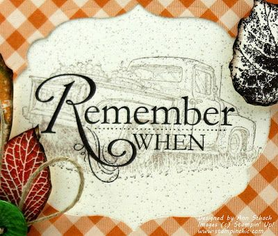 The Stampin' Schach: Remember When for Pals Paper Arts