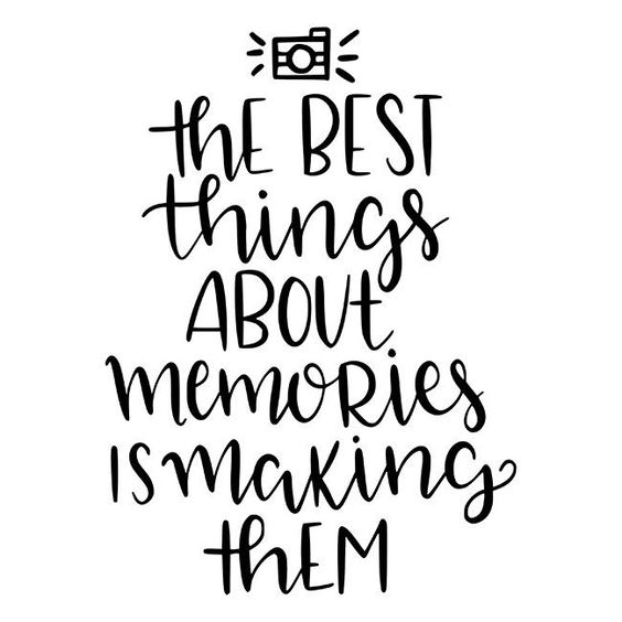 The Best Things About Memories Is Making Them Stencil - DIY Art in a Box