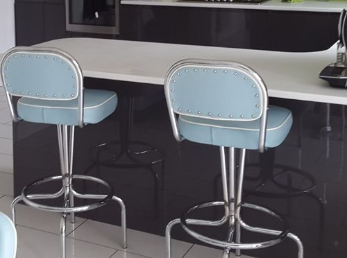 Same stool as the Office Canteen - looking extra fab in pastel Baby Duck Egg Blue in your home! | Bakery future | Pinterest | Baby ducks Bar stools ... & Same stool as the Office Canteen - looking extra fab in pastel ... islam-shia.org