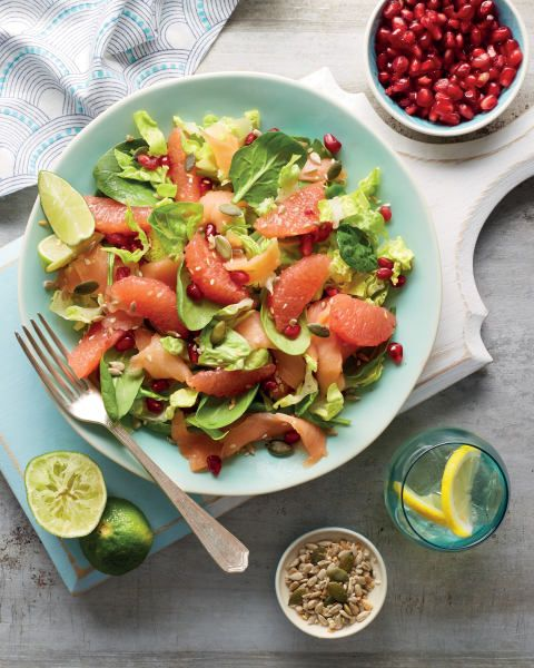 Kate Richard-Walsh a Team GB Hockey athlete, loves salmon! If you do too then try this recipe for a light lunch this summer :)