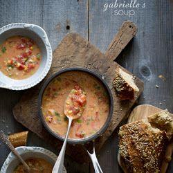 Simple Tomato & Corn Soup