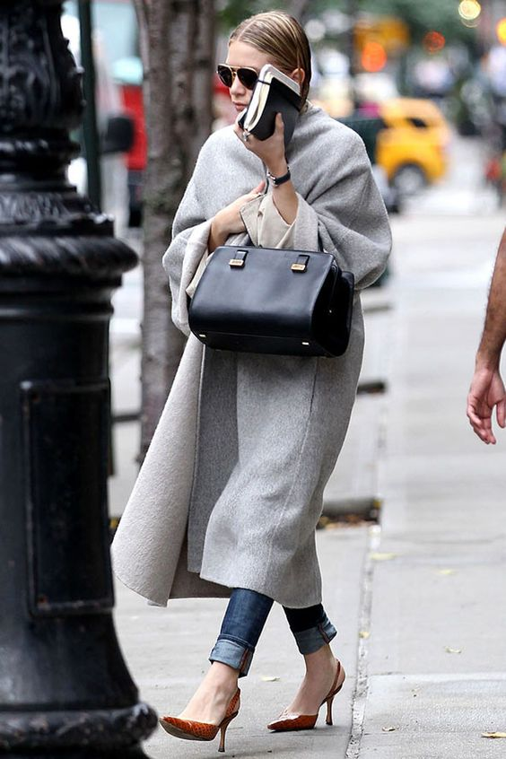 Look of the day - Ashley Olsen | Mila Keln Fashion and Style