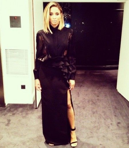 ciara style | Ciara Fashion Week Ciara Looks Spectacular In Her Givenchy Gown As She ...