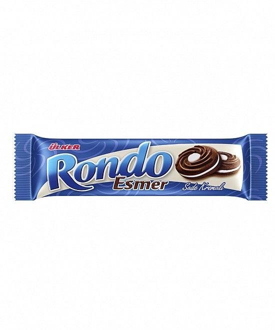 Ulker Rondo Esmer Biscuits 68 Gr X 24 Chocolate Biscuits Biscuits Chocolate