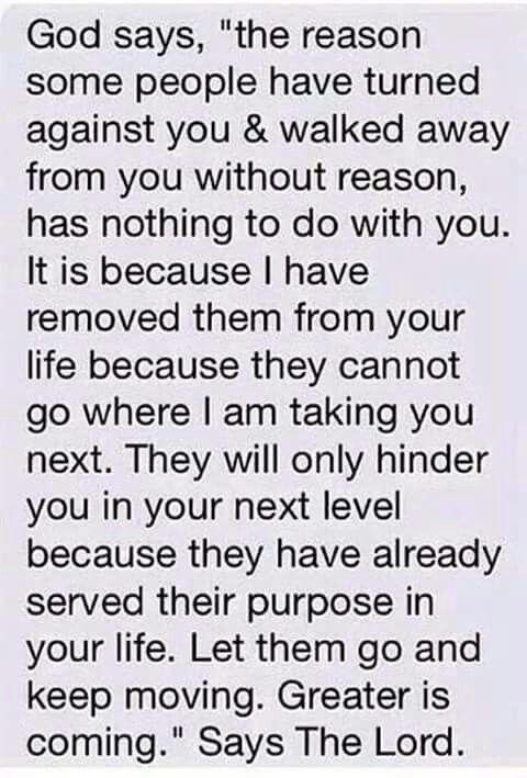 God said....