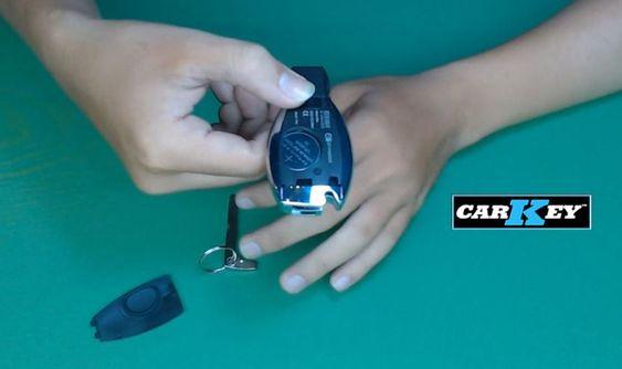 cách thay chìa khóa ô tô