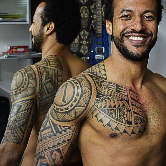 Best 25 Tribal Chest Tattoos Ideas On Pinterest: 25 Best Maori Tattoo Designs