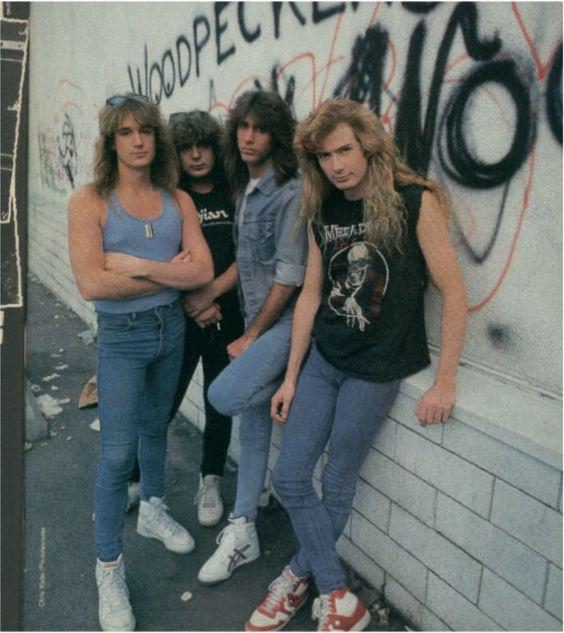 megadeth 1988 - 1989 - salahm - Fotolog