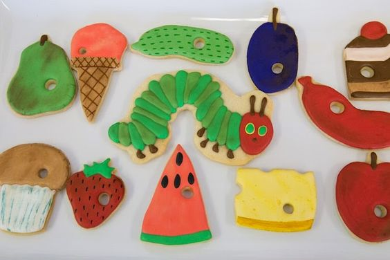 Festa de aniversário: The Very Hungry Caterpillar!
