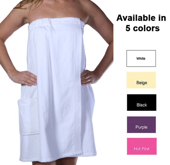 Velcro Shower Towel Wrap: Cottonage's Shower Wraps Are Great After Shower Cover-up