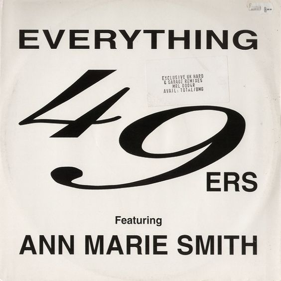 49ers – Everything (single cover art)