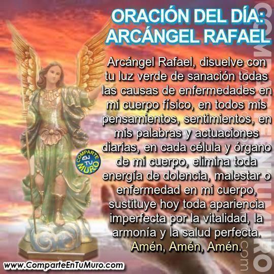 oracion milagrosa  san rafael arcangel  una gran 540 x 540 · jpeg