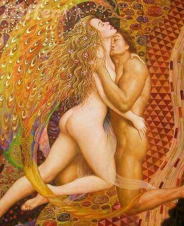 """Breathe into me... Close the language-door and open the love-window"" ~ Rumi ♥♥ Beautiful Artwork ~ Artist Unknown:"