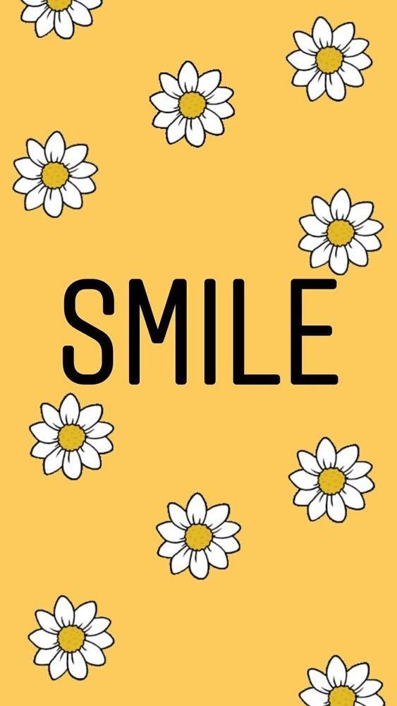 Aesthetic Yellow Wallpaper In 2019 Smile Wallpaper