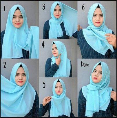 Tutorial Kerudung Pashmina Nisa Sabyan Kerudung Gaya Hijab Hijab