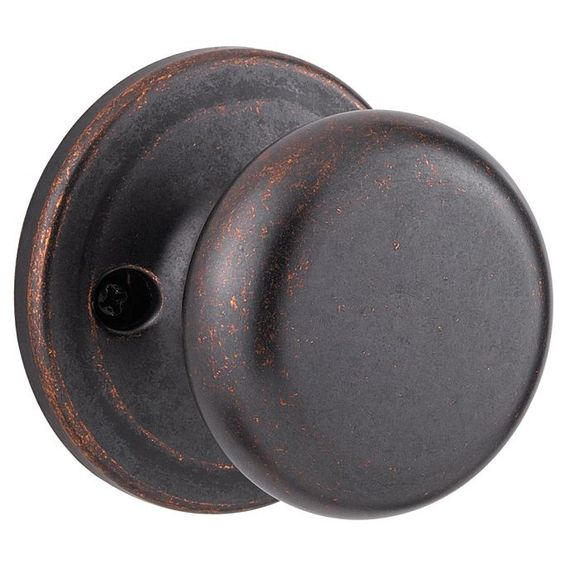 Kwikset Signature Series 97300-831 Rustic Juno Bed & Bath Privacy Knob