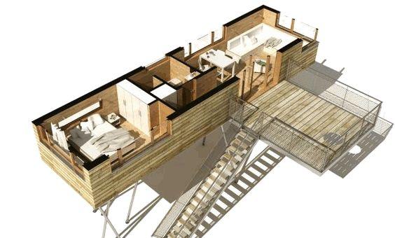 Die Baumhäuser im Suiten-Stil - Irgendwo im Nirgendwo ein Zauberwald