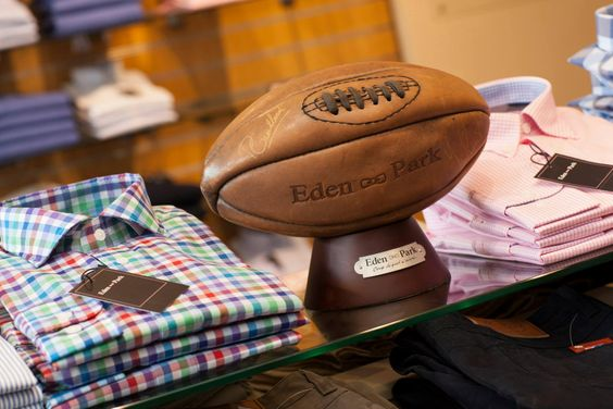 Instantly recognisable by the pink bow tie logo, Eden Park has a history with rugby, making the range an ideal fashion choice for rugby events.