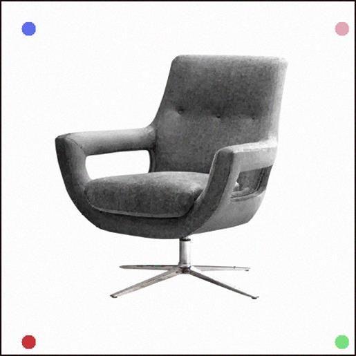 Gray Velvet Swivel Office Desk Chair Silver Base Office Desk Chair Desk Chair Chair