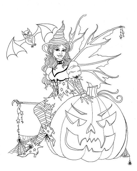 Omeletozeu Witch Coloring Pages Fairy Coloring Pages Fairy Coloring