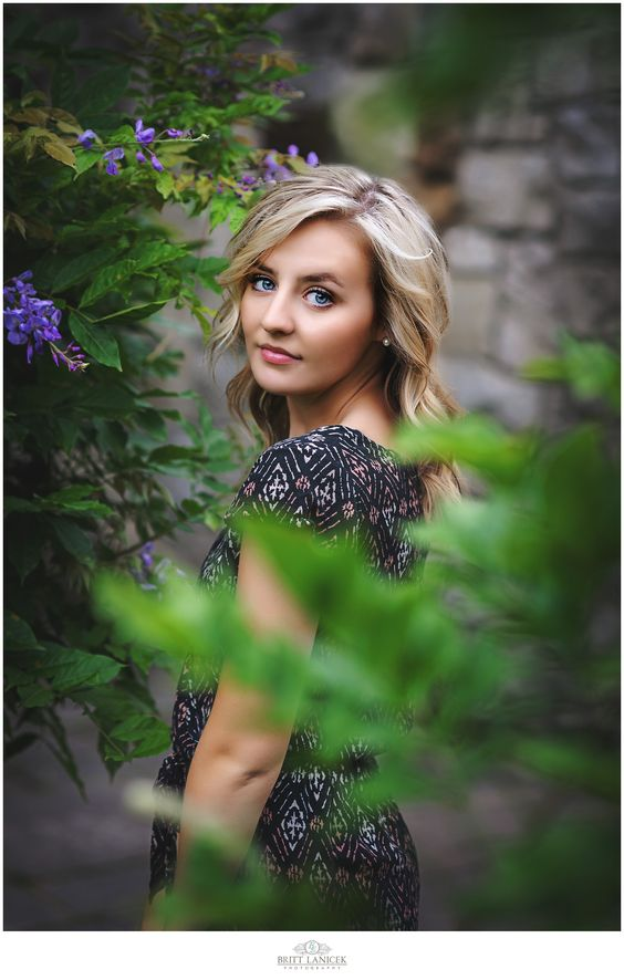 Madison, Tiffin Columbian Class of 2016 - Tiffin Ohio Senior Pictures captured at the Toledo Botanical Gardens by Britt Lanicek Photography