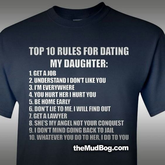 Rules of dating for teenage girls