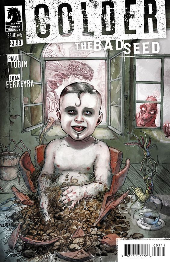 COLDER: THE BAD SEED #5 CREATORS Writer: Paul TobinArtist: Juan FerreyraCover Artist: Juan Ferreyra Genre: Action/Adventure, Horror Publication Date: Febru
