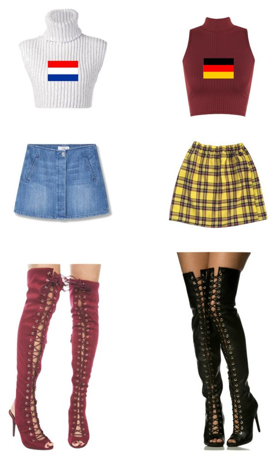 """""""Netherlands & Germany"""" by x666x999x ❤ liked on Polyvore featuring WearAll, Baja East, MANGO, germany, redwhiteblue, Netherlands and BlackRedYellow"""