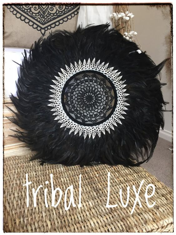 Feather Juju hat wall Hanging