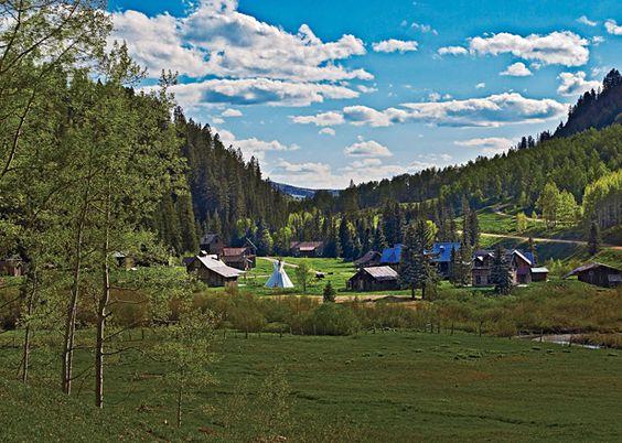 The World's Best Adventure Lodges: Dunton Hot Spring, Colorado