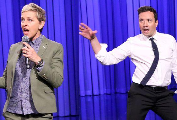 I got Ellen!|Are You More Like Jimmy Fallon Or Ellen DeGeneres?