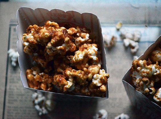 Vegan Caramel Popcorn Hack - Vegetarian Snob