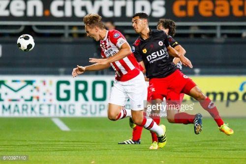 (L-R) Luuk de Jong of PSV Eindhoven, Khalid Karami of Excelsior,... #dunavatudejos: (L-R) Luuk de Jong of PSV Eindhoven,… #dunavatudejos
