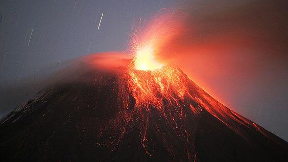 Vulcões mais ativos do mundo