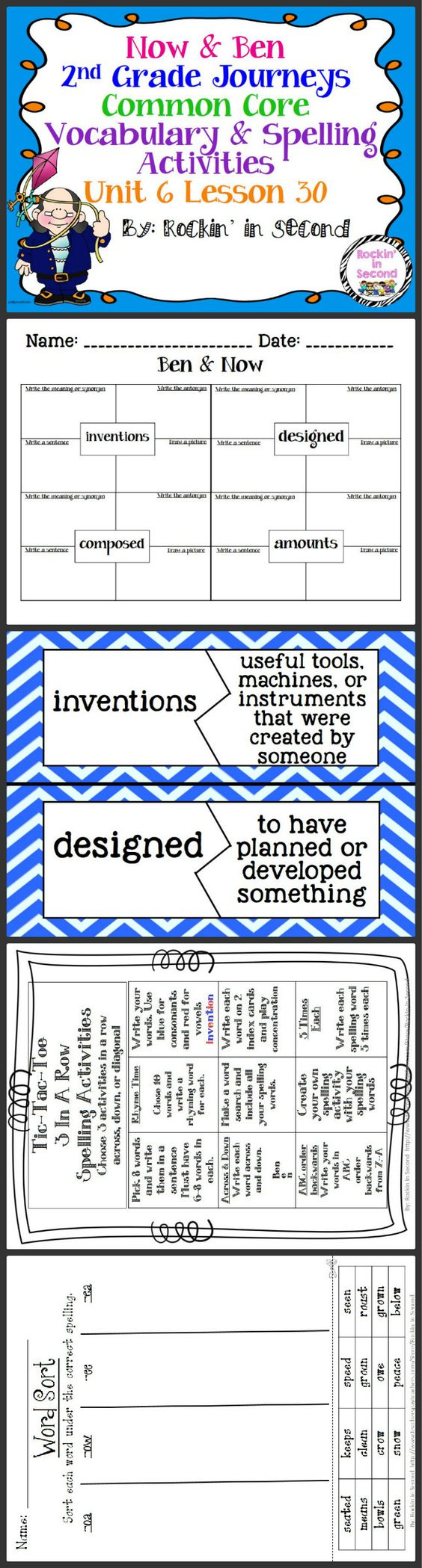 Worksheet Spelling On Line activities student and spelling on pinterest now ben lesson 30 vocab in this bundle you will receive